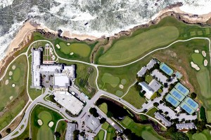 Ritz Carlton, Half Moon Bay, Aerial Panorama