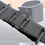bare minimum camera platform attached to Cessna wing strut