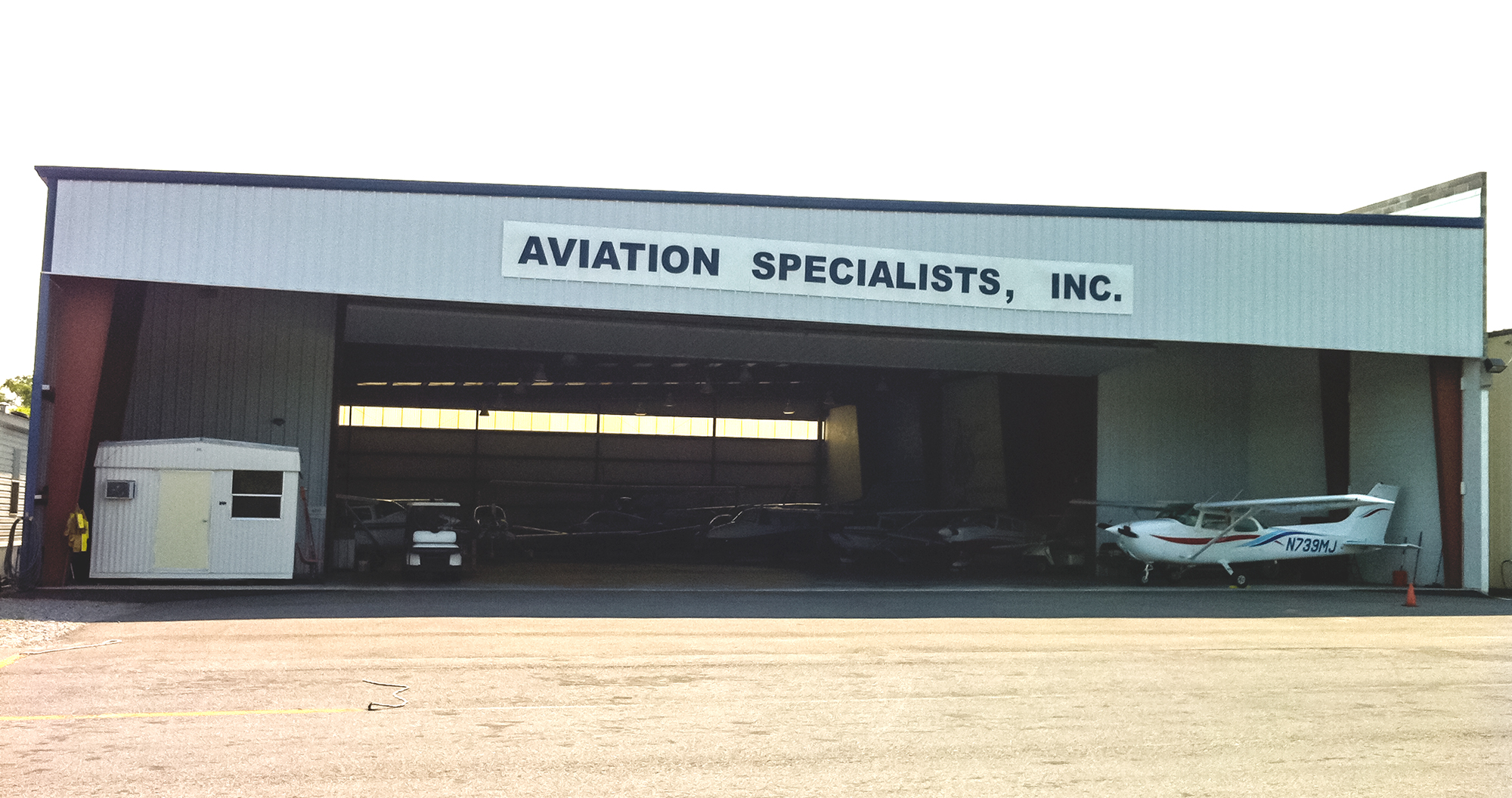 Aviation Specialists, Inc. in Gonzales, LA using SkyIMD SkyFusion Pak