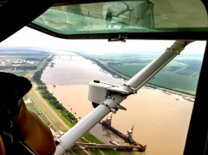 ASI Flying Along the Mississipi River with a SkyIMD Camera Platform