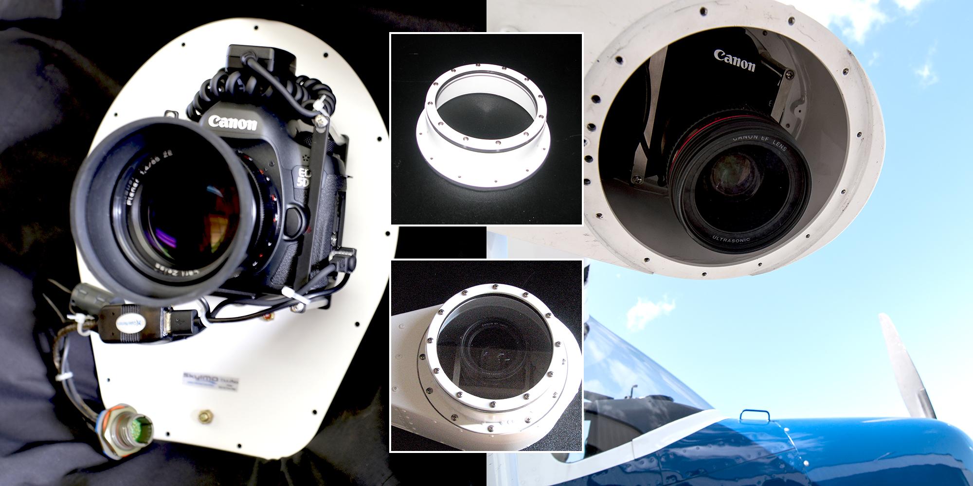 51 mega pixel Canon 5DSR Aerial Imaging Platform