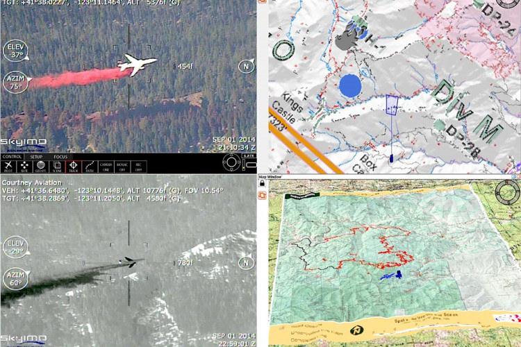 Fusion of Manned and Unmanned Aerial System (UAS) Breakthrough on California's Largest 2014 Wildfire