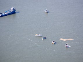 SkyIMD observed an oil spill clean up drill