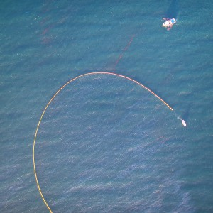 Aerial Photo of the Refugio Oil Spill & Clean Up