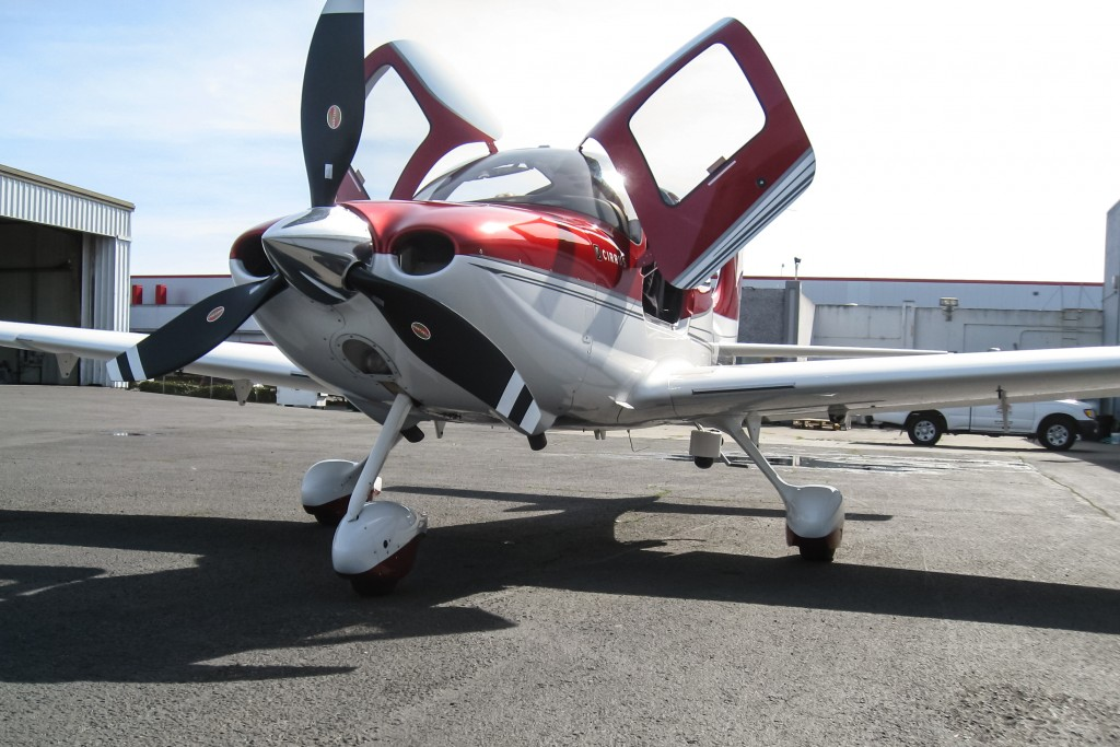 SkyIMD's FAA STC approved aerial camera platform for Cirrus SR22 aircraft