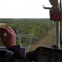 power line inspection using SkyIMD's aerial cameras