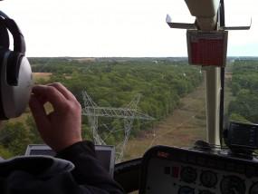 power line inspection using SkyIMD's aerial cameras